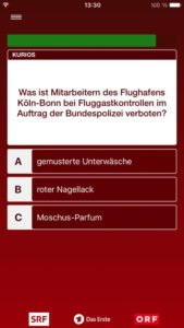 Spiel für dein Land App Screenshot - (c) NDR