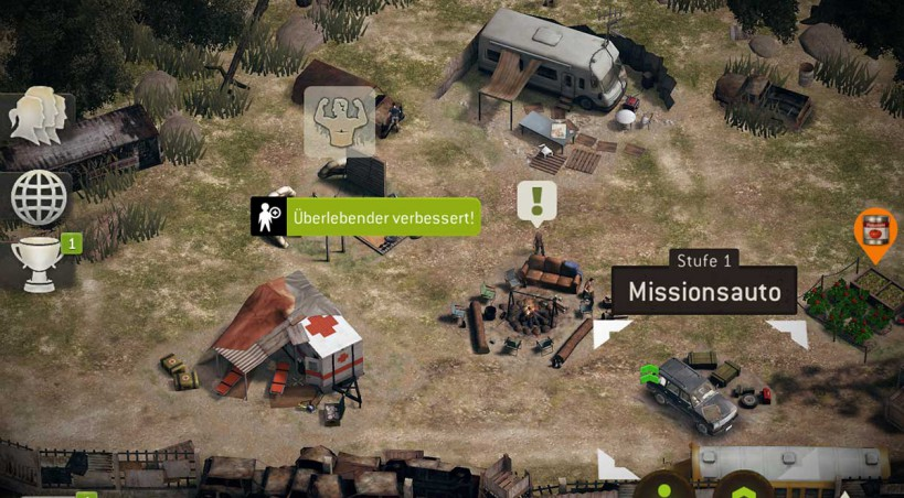 The Walking Dead No Man's Land Tipps, Tricks und Cheats für Android und iOS