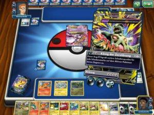 Pokémon Sammelkartenspiel Online Screenshot - (c) THE POKEMON COMPANY INTERNATIONAL