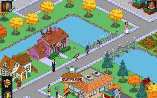 Tippe demn Truthahn in Simpsons Springfield an, um an Keulen für das Thanksgiving 2015 Event zu gelangen