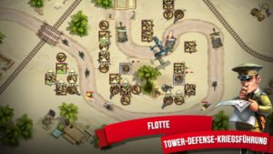 Toy Defense 2 Screenshot der Tower Defense App - (c) Melsoft
