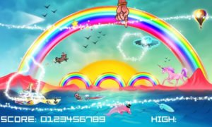 Techno Kitten Adventure Screenshot - (c) 21st Street Games