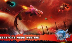Hungry Shark Evolution: Update mit neuem Level, Haien und mehr - Space Sharks