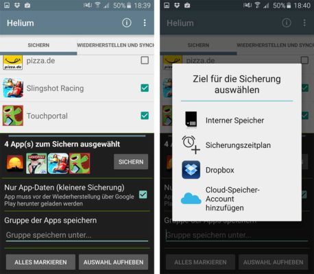 android apps und daten auf neues handy übertragen