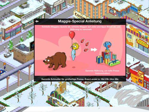 Akt Maggie ist einfach zu absolvieren - Imaginäre Bären antippen und Storyline durchspielen