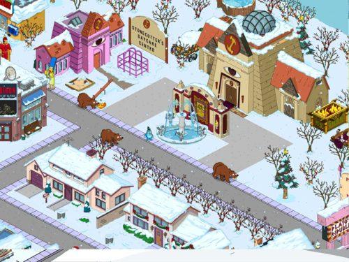 Tippe die imaginären Bären in Simspons Springfield an, um an Schnuller zu gelangen