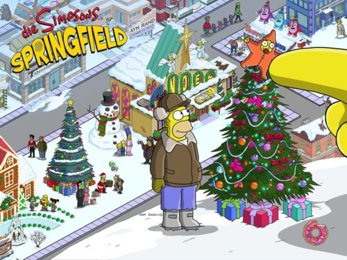 Alles zur Storyline in Simpsons Springfield in Akt 3