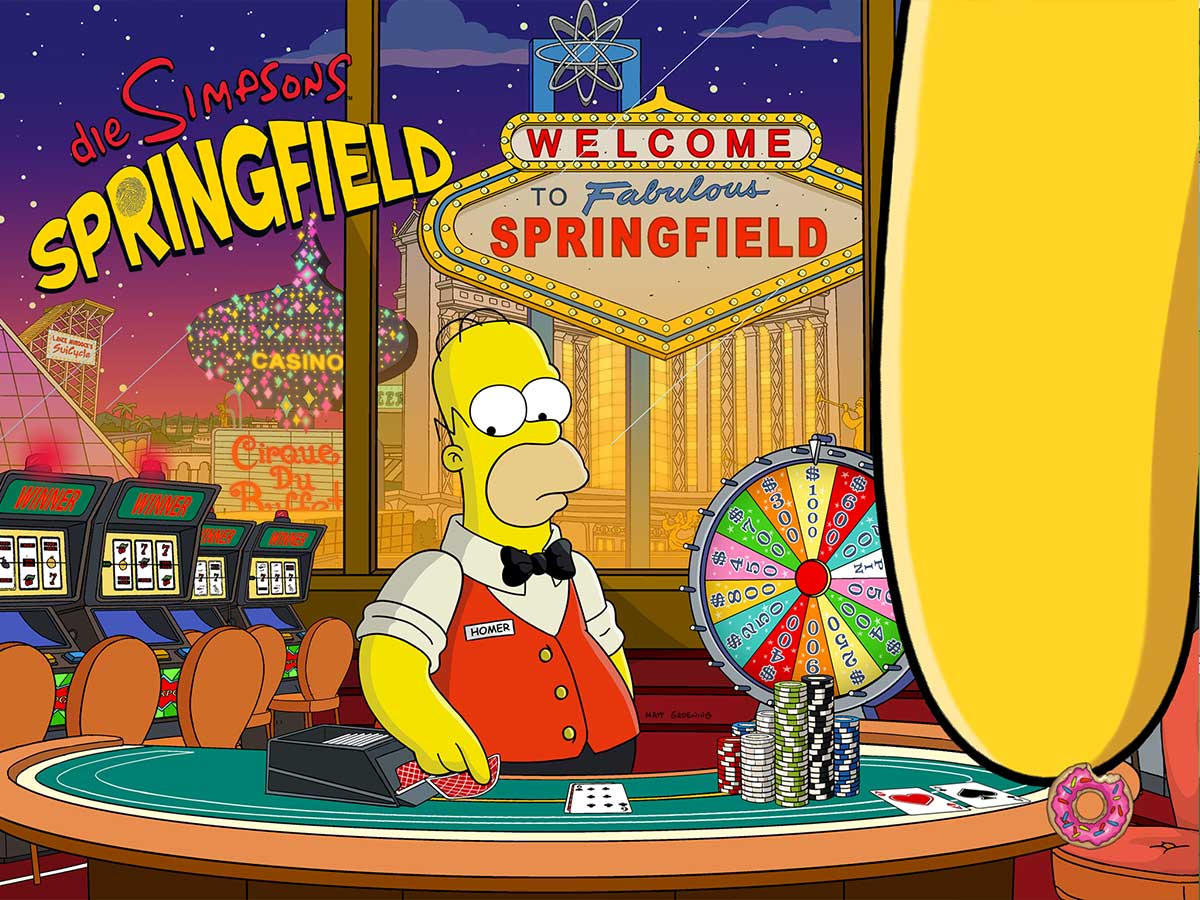 simpsons casino event