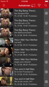 Mit Save.TV kannst du dir deine Aufnahmen direkt auf dem Smartphone anschauen