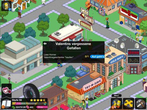 Mit Valentins vergessene Gefallen startet das Mini-Event in Simpsons Springfield