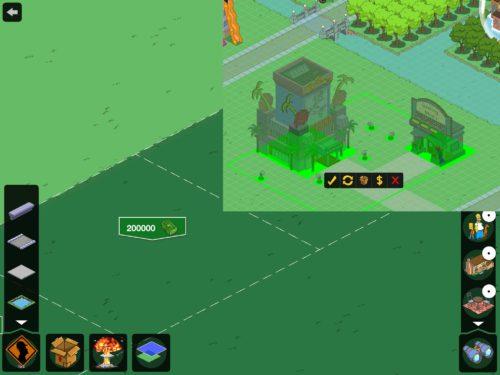 Neues Land und neue Funktionen in Simpsons Springfield