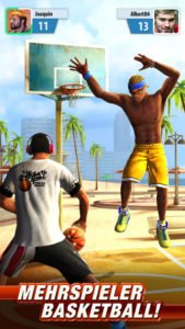 Basketball Stars Screenshot - (c) Miniclip