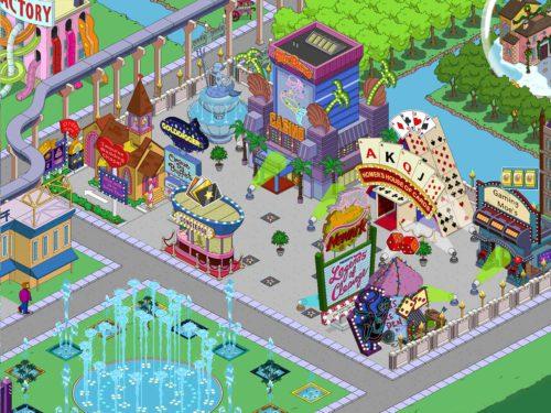 Insgesamt könnt ihr bei drei Gebäuden in Simpsons Springfield eure Casinomarken ausgeben, doch wo genau macht es am meisten Sinn?