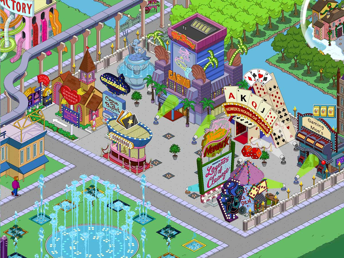 simpsons app casino