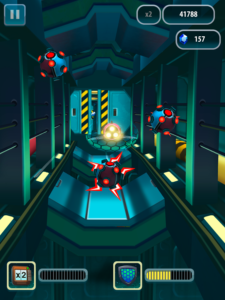 Space Heads Screenshot -(c) Unity Games