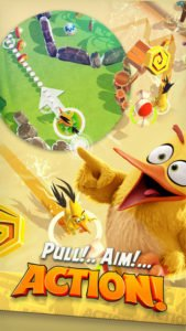 Angry Birds Action Screenshot - (c) Rovio
