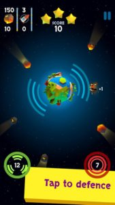 Defend the Planet App - (c) Screenshot Argo Studio