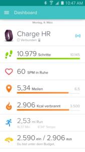 Fitbit Screenshot -(c) Fitbit Inc.