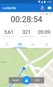 Runtastic Screenshot -(c) Runtastic