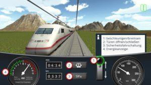 Sp spielt sich der DB Zug Simulator - (c) Deutsche Bahn