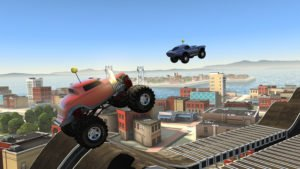 MMX Hill Climb Screenshot - (c) Hutch Games