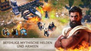 Olympus Rising Screenshot des Reverse Tower Defense Spiel - (c) flaregames
