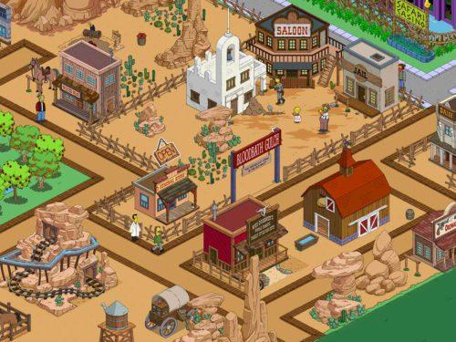 Tipps zu Akt 3 des Wilder Westen Event in Simpsons Springfield mit Storyline und Preisen