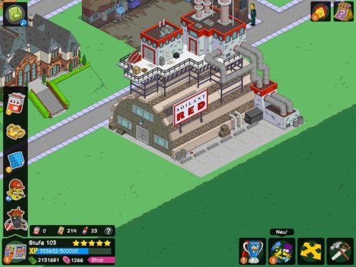 Du platzierst im Akt 2 des Superhelden 2 Event von Simpsons Springfield nicht nur das Soilant-Red Gebäude, sondern musst auch die Währung Soilant-Red sammeln