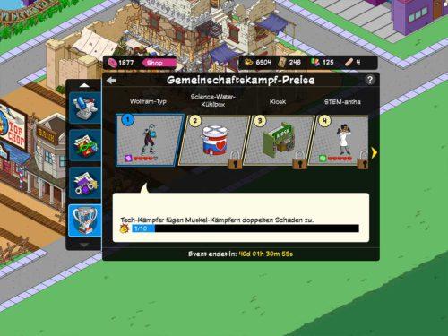 Insgesamt gibt es 10 Gemeinschaftskampf-Preise im Superhelden 2 Event freizuschalten