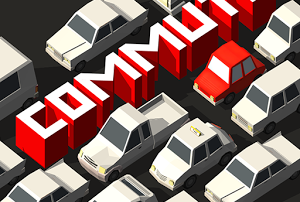 Commute Heavy Traffic: Wenn Stau zum Unfall führt - Android Spiele App
