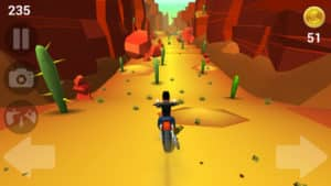 Faily Rider Screenshot - (c) Spunge Games Pty Ltd