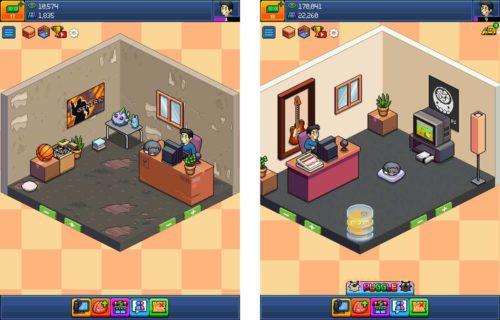Zunächst solltest du den Raum in PewDiePie Tuber Simulator nicht verschönern, das kannst du im Laufe des Spiels machen, umso mehr Views du hast