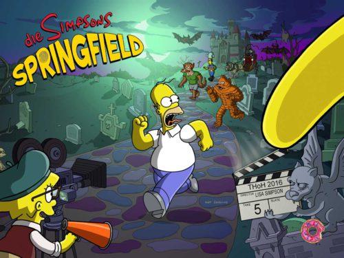 Das Simpsons Springfield Treehouse of Horror XXVII Event ist gestartet und so funktionierts