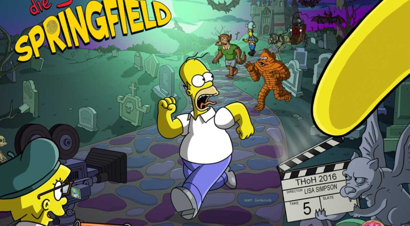 Simpsons Springfield Treehouse of Horror XXVII Tipps, Preise, So funktioniert das Event