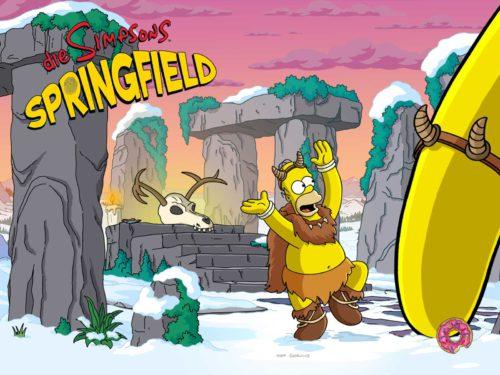 Mit dem Winter 2016 Event hält Weihnachten und Schnee Einzug in Die Simpsons Springfield