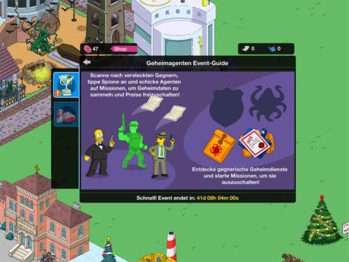 Das Simpsons Springfield Geheimagenten Event bringt zahlreiche neue Preise mit