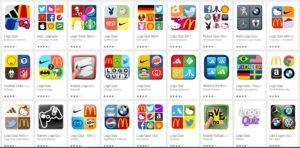 Logo Quiz Loesungen von verschiedenen Anbietern einfach und schnell finden - Screenshot von Google Play