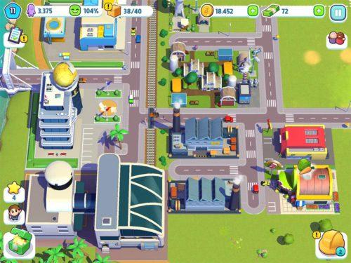 Tipp 1: Platziere Fabrikgebäude weit entfernt von deinen Wohngebäuden