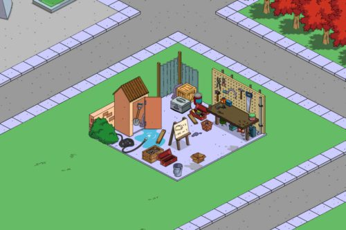 Simpsons Springfield: Homers Werkbank - Indiz auf neues Event