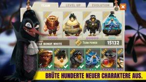 Angry Birds Evolution mit RPG Elementen - Screenshot (c) Rovio Entertainment
