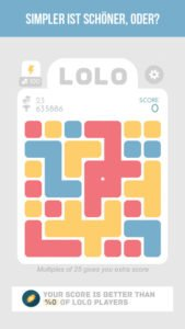 LOLO Puzzle Spiel Screenshot - (c) 101 Digital