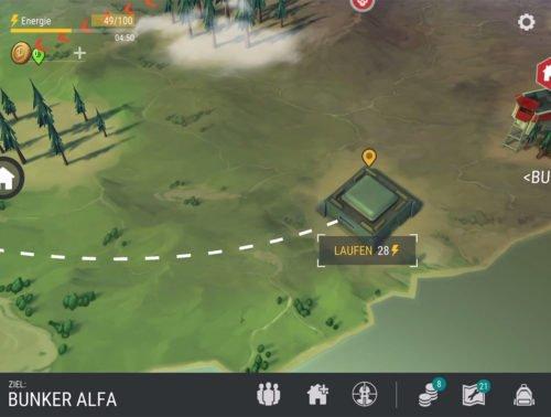 Der Bunker Alfa auf der Last Day On Earth Weltkarte