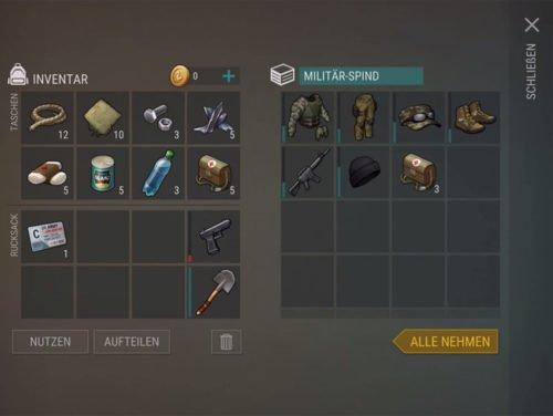 Als Belohnung gibt es in den Spinden von Bunker Bravo Material, als auch Ausrüstung und die MK16