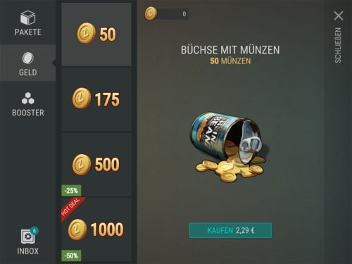 Münzen gibt es in Last Day On Earth nur via In-App-Kauf, aber das Guthaben könnt ihr euch kostenlos verdienen