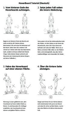 Anleitung zum Fahren für das AlienBoard BatWings - Foto (c) AlienBoard