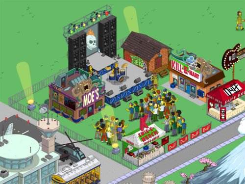 Alles rund um Simpsons Springfield Homerpalooza Akt 2