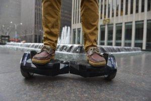 Das BatWings Hoverboard von AlienBoard bei uns im Review - Foto (c) AlienBoard