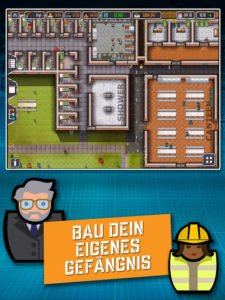 Prison Architect Mobile Screenshot - (c) Paradox Interactive