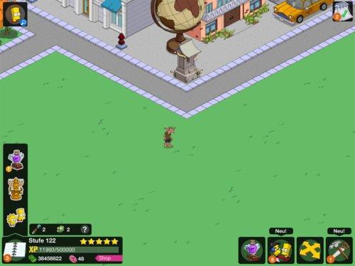 Plagegeister kannst du in deinem Springfield und bei Freunden antippen und bringen neben Zauberstäben auch Goblin-Gold