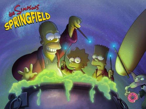 Alles zum Treehouse of Horror 2017 Event von Die Simpsons Springfield - Bild: EA
